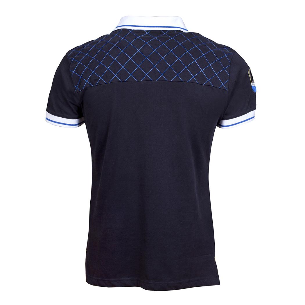 Trendy short-sleeved polo
