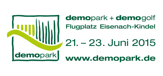 Mecalac at the demopark in Eisenach (Germany), 21 - 23 June 2015