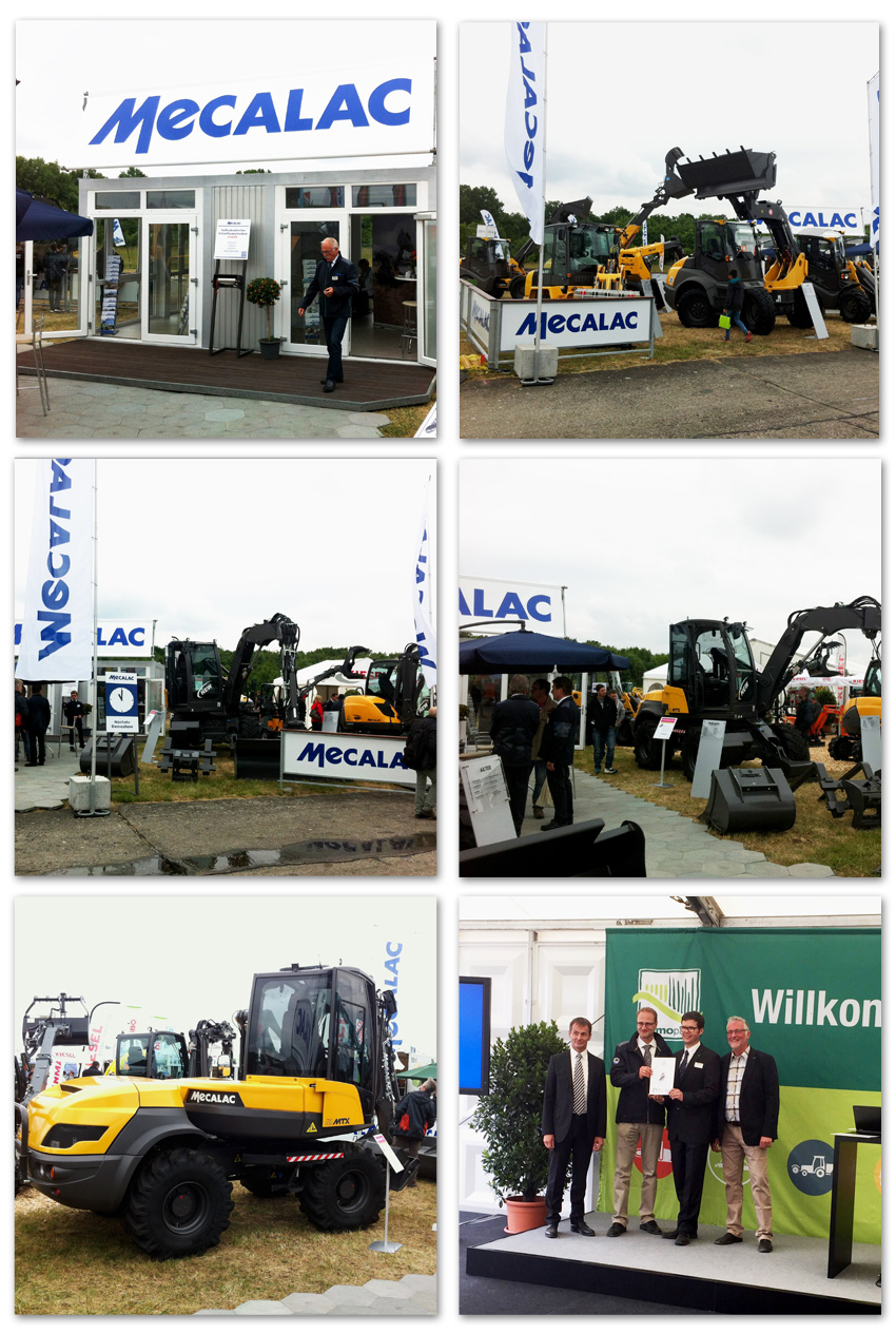 Mecalac at the demopark, 21 - 23 June 2015