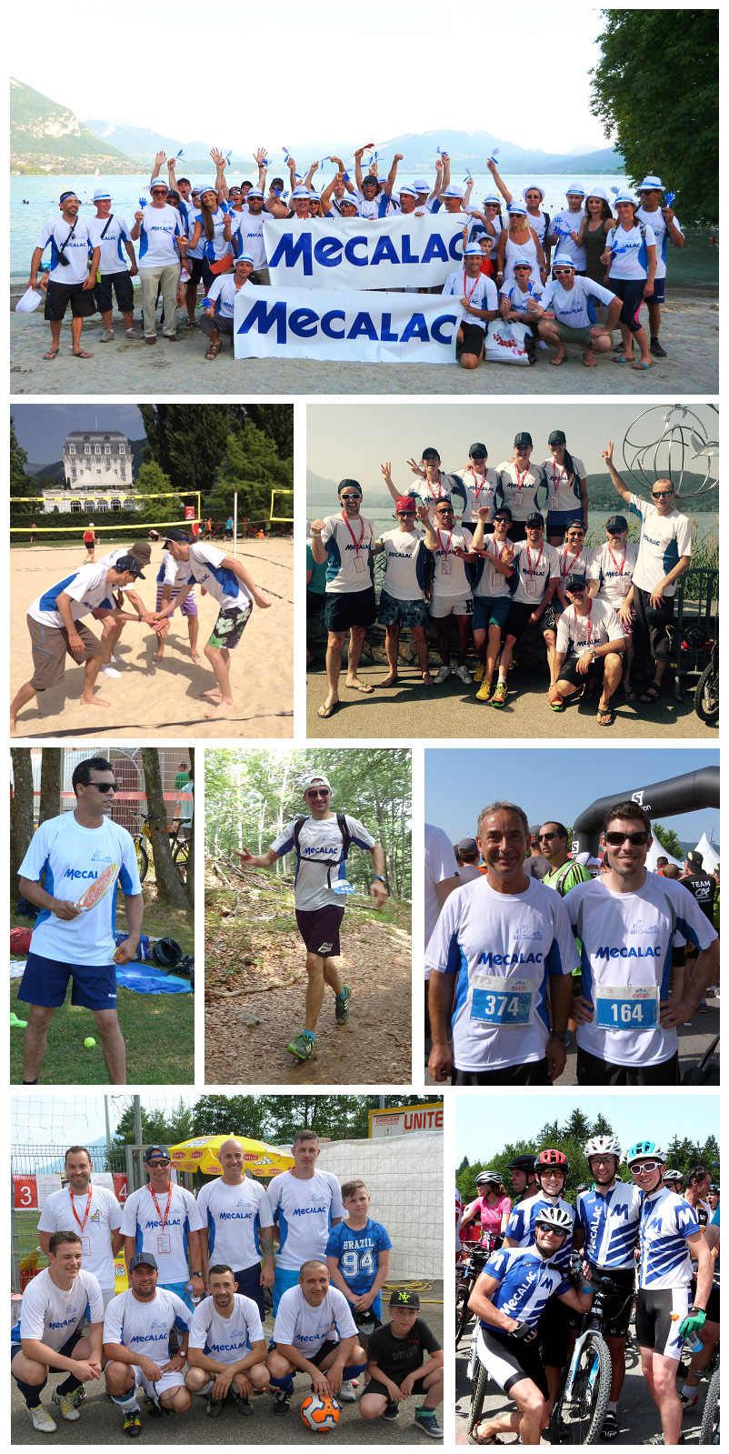I colori di Mecalac ai Corporate Games 2015