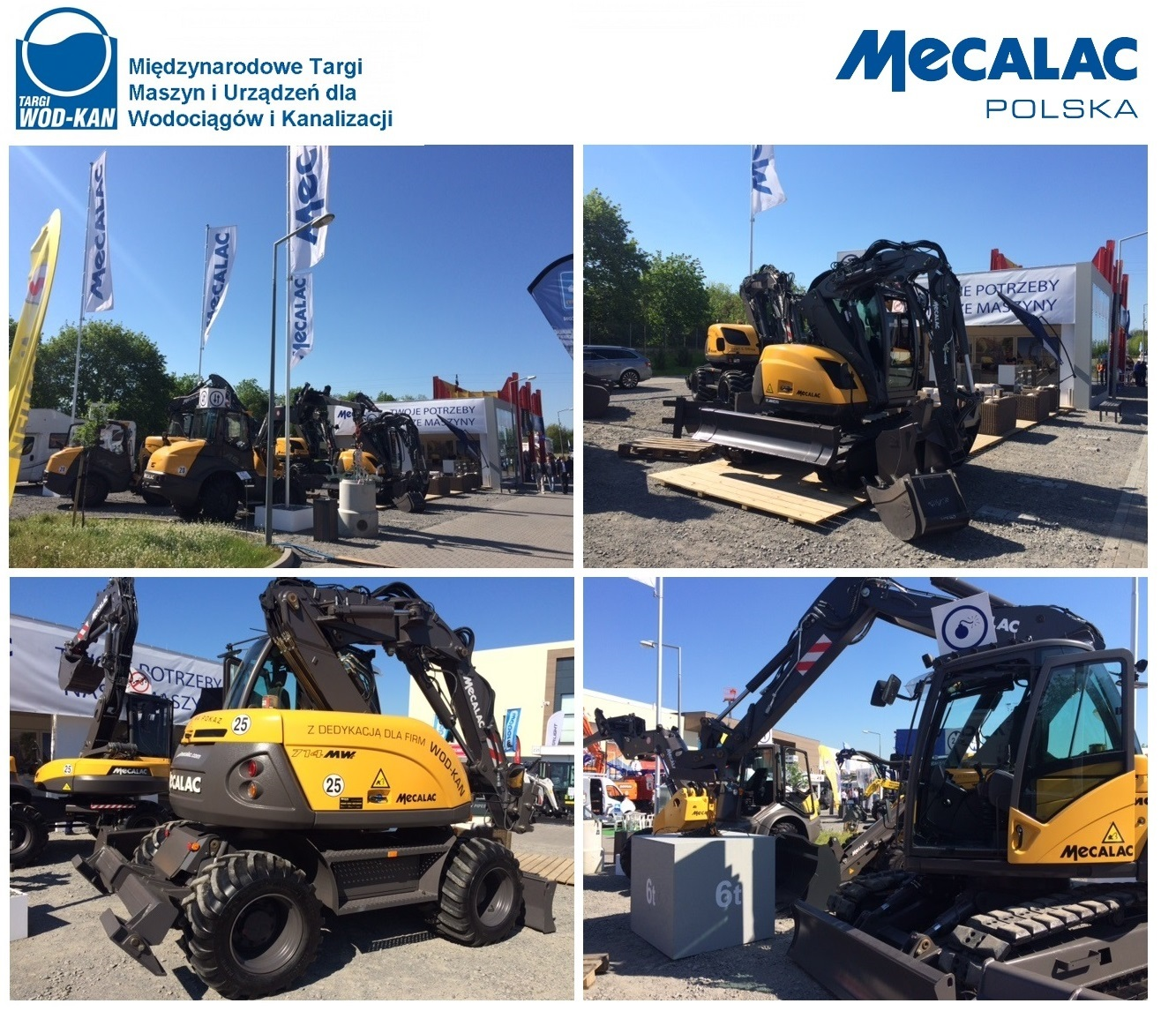 Mecalac Polska at WOD-KAN International Fair