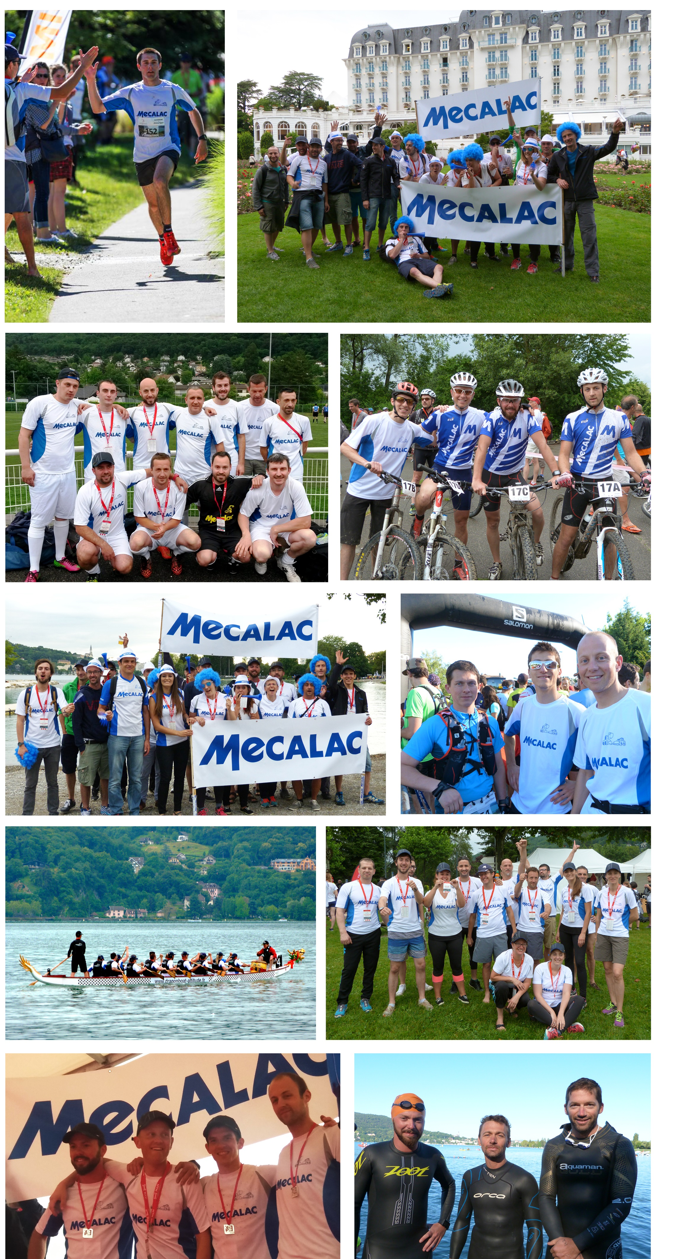 Mecalac at the 2016 Corporate Games