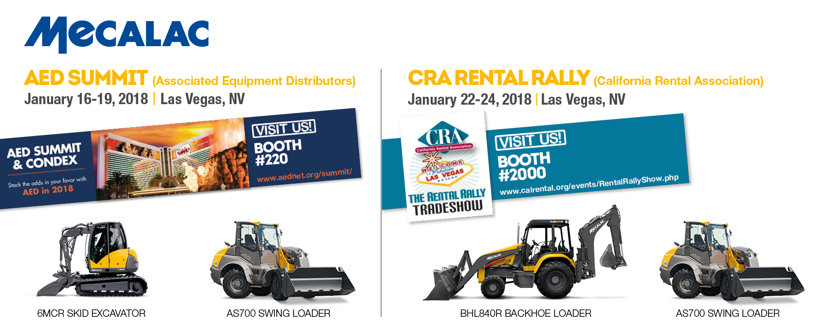 AED SUMMIT & CRA RENTAL RALLY