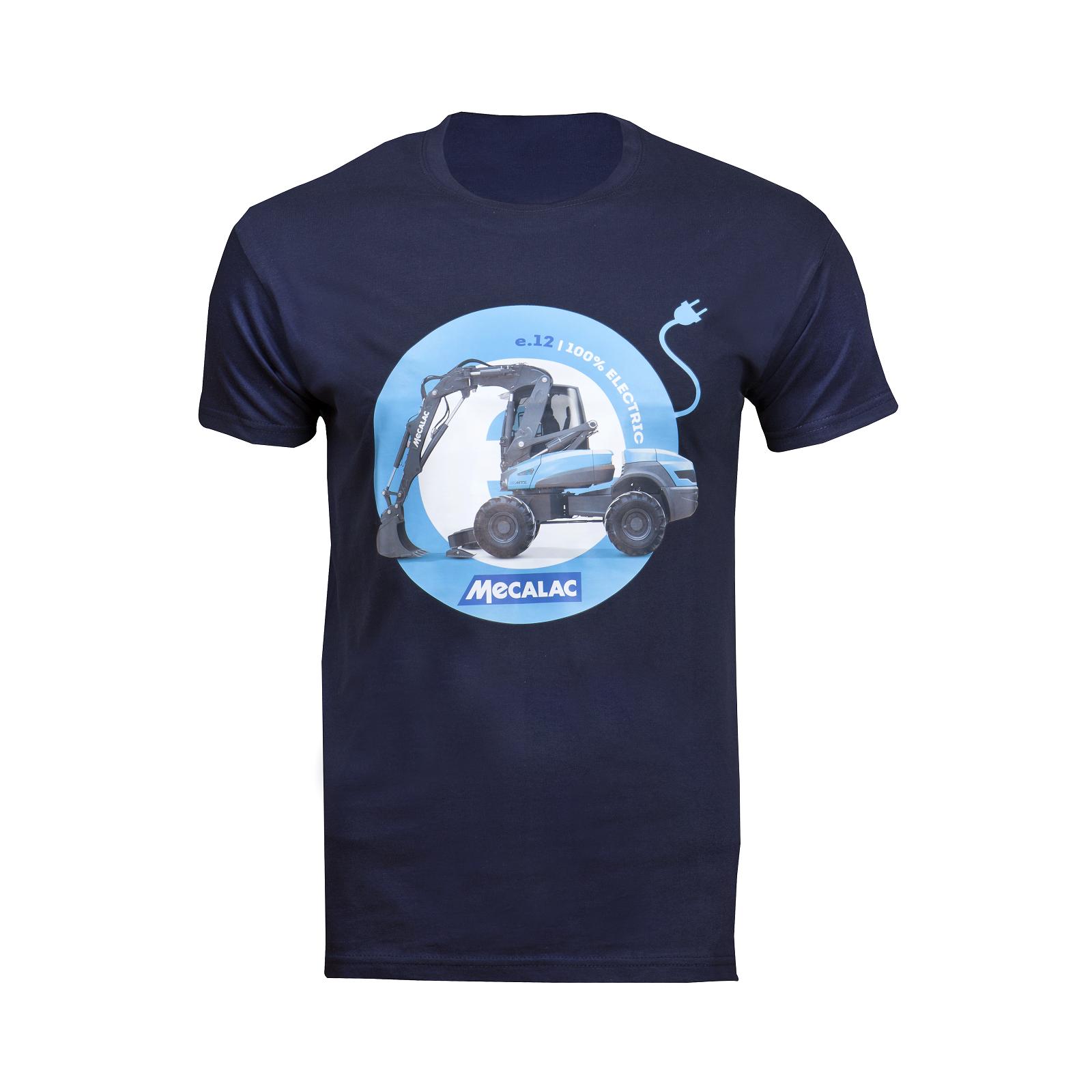 T-shirt e12 bleu foncé