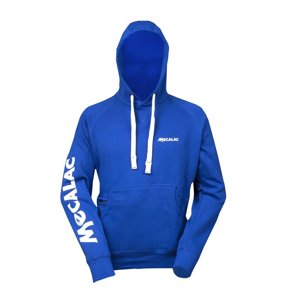 Hooded sweatshirt- blue