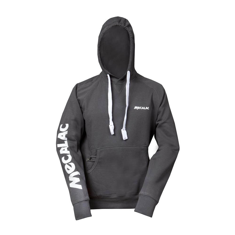 Hooded sweatshirt- grey