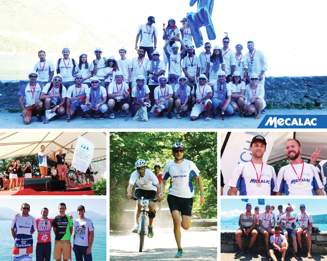 Mecalac aux Corporate Games 2018