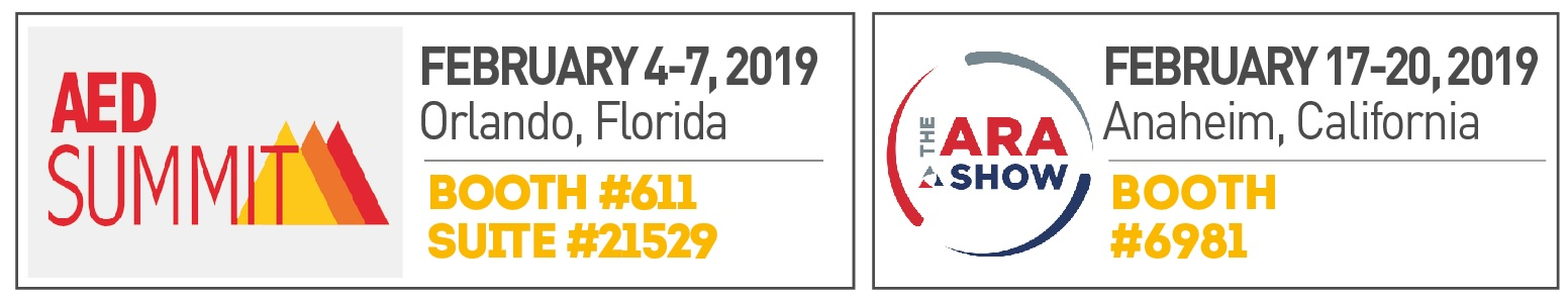 AED Summit & ARA Rental Show 2019