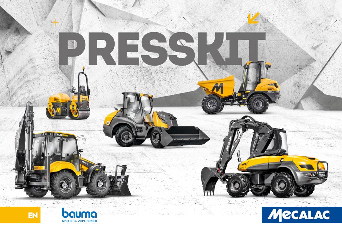 BAUMA 2019 - Press Kit