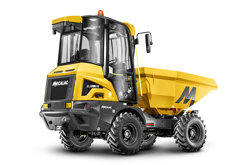 Mecalac launches its innovative 3.5MDX cabbed site dumper