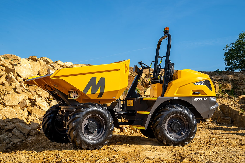 Mecalac unveils major evolutions to its MDX site dumper range