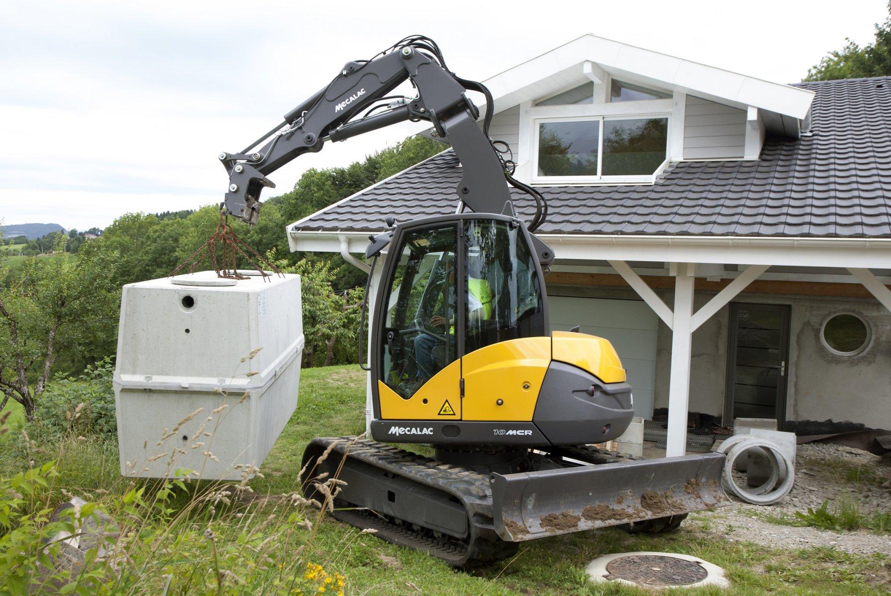 Crawler Skid Excavators Mecalac 10mcr