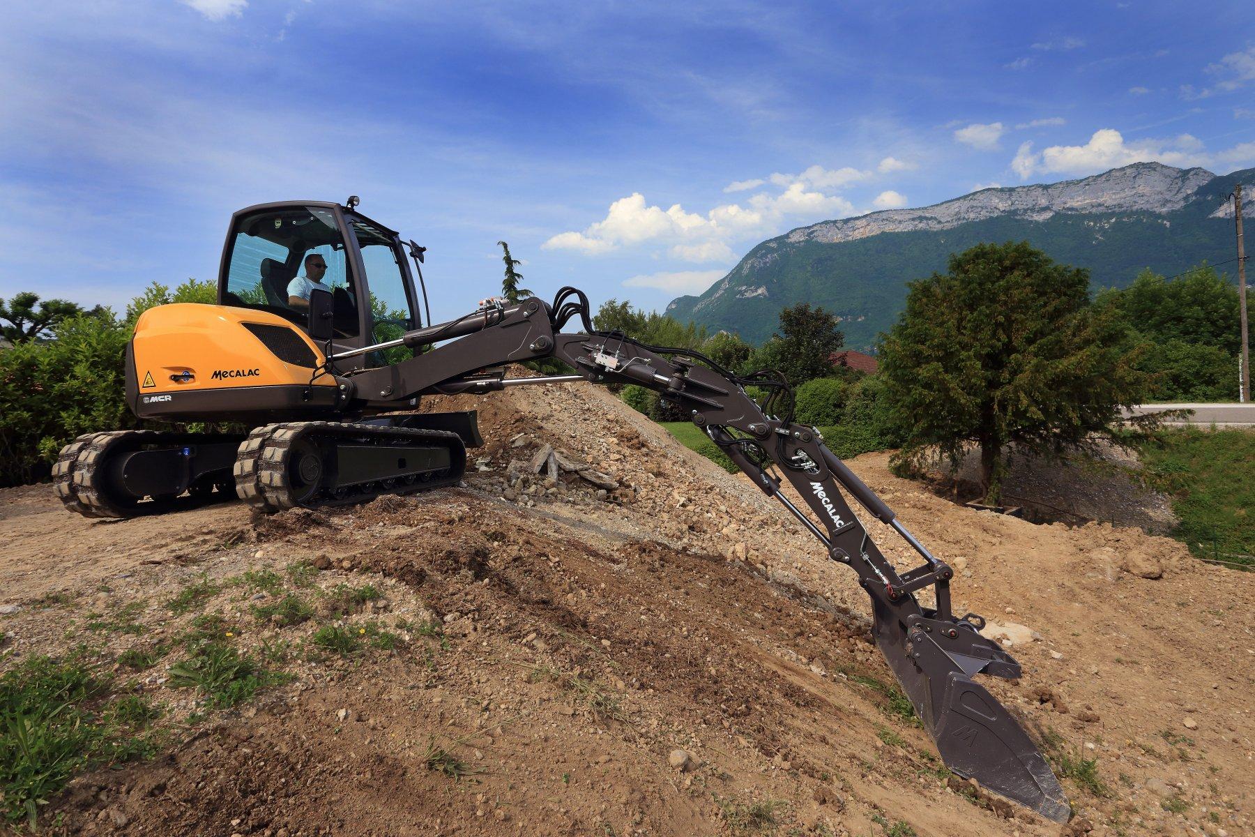Crawler Skid-Excavators Mecalac 6MCR