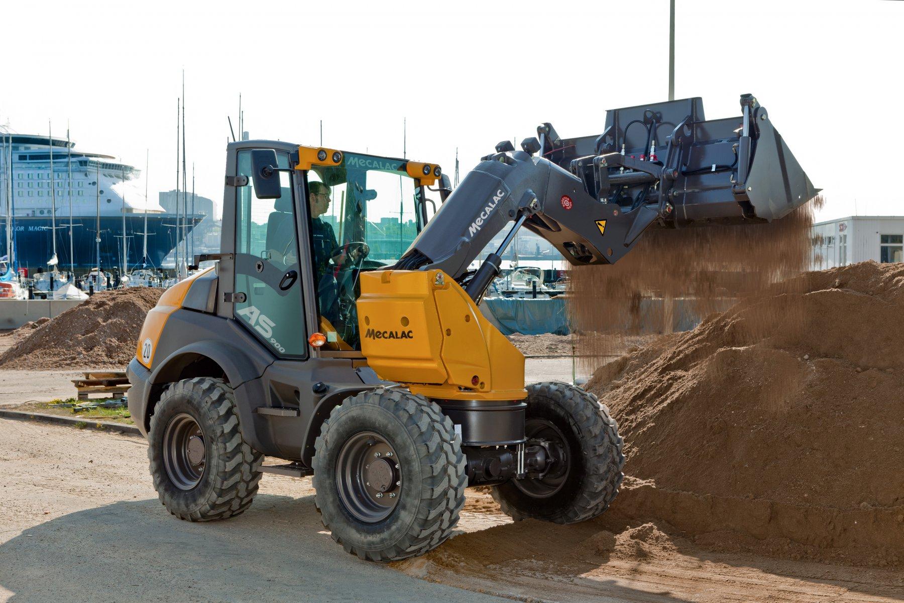 ahlmann ax 850 gebrauchte traktoren mit allrad. Black Bedroom Furniture Sets. Home Design Ideas