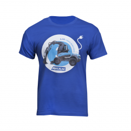 e12 T-shirt light blue