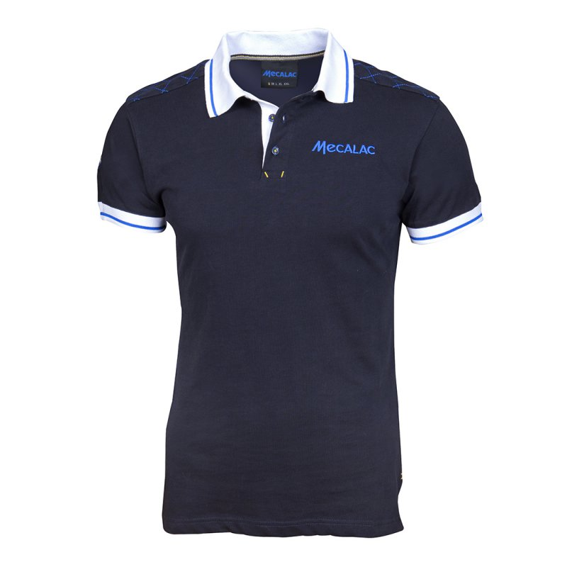 Trendy short-sleeved polo